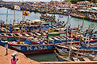 Elmina Canal & Fishing Fleet