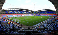 A general view of the Macron Stadium, Bolton, home of Bolton Wanderers Football Club<br /> <br /> Photographer Rich Linley/CameraSport<br /> <br /> Football - The EFL Sky Bet League One - Bolton Wanderers v Sheffield United - Saturday 6th August 2016 - Macron Stadium - Bolton<br /> <br /> World Copyright © 2016 CameraSport. All rights reserved. 43 Linden Ave. Countesthorpe. Leicester. England. LE8 5PG - Tel: +44 (0) 116 277 4147 - admin@camerasport.com - www.camerasport.com