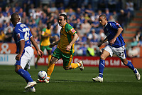 Photo: Pete Lorence.<br />Leicester City v Norwich City. Coca Cola Championship. 14/04/2007.<br />Lee Croft in action.