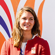 NLD/Scheveningen/20160713 - Perspresentatie sporters voor de Olympische Spelen 2016 in Rio de Janeiro, Marlou van Rhijn
