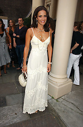 SOPHIE ANDERTON at the annual Michele Watches Summer Party held in the gardens of Home House, 20 Portman Square, London W1 on 15th June 2006.<br /><br />NON EXCLUSIVE - WORLD RIGHTS
