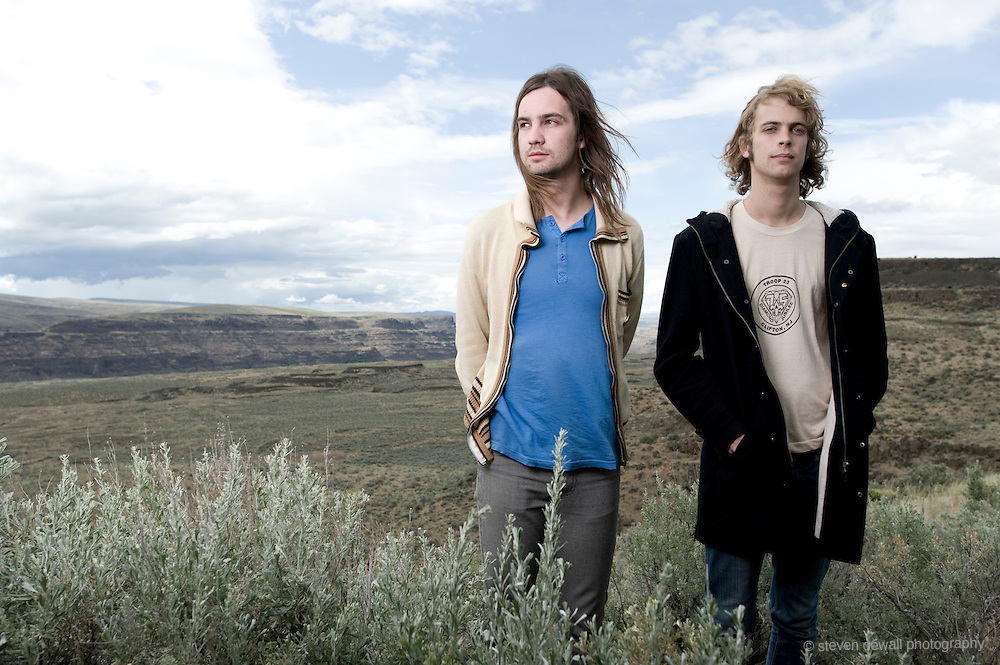 (From left) Kevin Parker and Jay Watson of Tame Impala