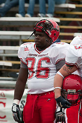 08 OCT 2005 WKU Hilltopper Daniel Williams.  The Illinois State University Redbirds roped and tied the Western Kentucky University Hilltoppers in regulation but loosened the noose in Overtime as the Hilltoppers take the honors with a 37 - 24 Victory in Gateway Conference action at Hancock Stadium on Illinois State's campus in Normal IL.