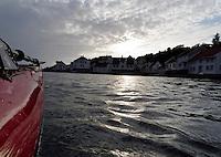 Kayaking past Loshamn