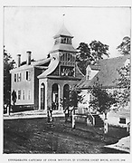 At the battle of Cedar Mountain, August 9, 1861, the above with other Confederates were captured and temporarily confined in this county town of Culpeper. from the book ' The Civil war through the camera ' hundreds of vivid photographs actually taken in Civil war times, sixteen reproductions in color of famous war paintings. The new text history by Henry W. Elson. A. complete illustrated history of the Civil war