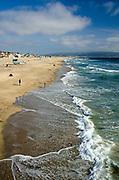Manhattan Beach Looking South to Redondo Beach