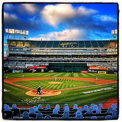 Opening Night, Oakland Coliseum, 2020
