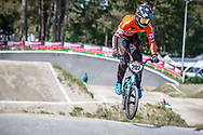 #202 (VAN DE GROENENDAAL Kevin) NED during practice at Round 5 of the 2018 UCI BMX Superscross World Cup in Zolder, Belgium