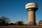 A general view of Durant, Oklahoma on January 27, 2017.  (Cooper Neill for The New York Times)