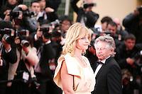 Nastassja Kinski, actress and Roman Polanski, Director    arriving at the Vous N'Avez Encore Rien Vu gala screening at the 65th Cannes Film Festival France. Monday 21st May 2012 in Cannes Film Festival, France.