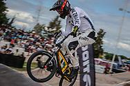 #22 (FRANKS Daniel) NZL at the 2016 UCI BMX Supercross World Cup in Santiago del Estero, Argentina