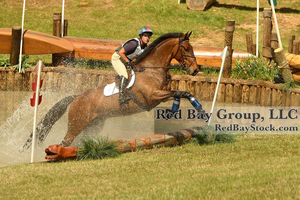 Sonya Crampton (CAN) and Kenlis Cavalier at Poplar Place Spring Horse Trials held in Hamilton, Georgia