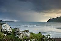 Evening over Loch Brittle Isle of Skye Scotland