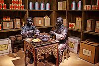 Chine, Guangdong, Guangzhou ou Canton, ville nouvelle de Zhujiang, nouveau musée du Guangdong, ceremony du thé // China, Guangdong province, Guangzhou or Canton, Zhujiang new city, new Guangdong museum, tea ceremonie