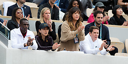 May 30, 2019 - Paris, FRANCE - Team Osaka in action during the second-round at the 2019 Roland Garros Grand Slam tennis tournament (Credit Image: © AFP7 via ZUMA Wire)