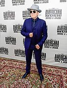 NASHVILLE, TENNESSEE - SEPTEMBER 11: Elvis Costello arrives at the 18th Annual Americana Honors & Awards at Ryman Auditorium on September 11, 2019 in Nashville, Tennessee.