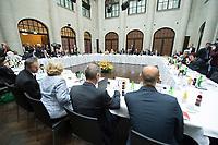07 MAY 2013, BERLIN/GERMANY:<br /> Uebersicht, Plenarsitzung der Deutschen Islam Konferenz, DIK, Humbold Caree<br /> IMAGE: 20130507-01-043<br /> KEYWORDS: Sitzung, Plenum, Übersicht