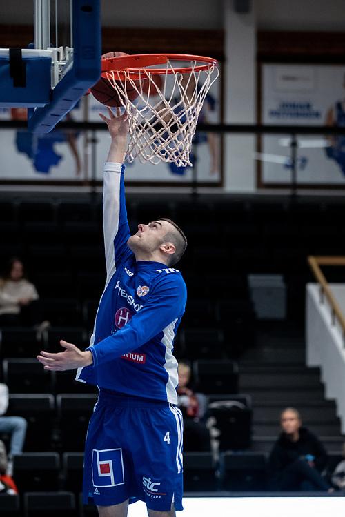ÖSTERSUND 20210924<br /> Jämtlands Tim Nord under fredagens match i Basketligan mellan Jämtland Basket och Nässjö Basket i Östersunds Sporthall<br /> <br /> Foto: Per Danielsson/Projekt.P
