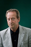 Acclaimed Scottish actor Bill Paterson pictured at the Edinburgh International Book Festival where he talked his recently-published memoir entitled Tales from the Back Green. The three-week event is the world's biggest literary festival and is held during the annual Edinburgh Festival. 2008 was the Book Festival's 25th anniversary and featured talks and presentations by more than 500 authors from around the world.
