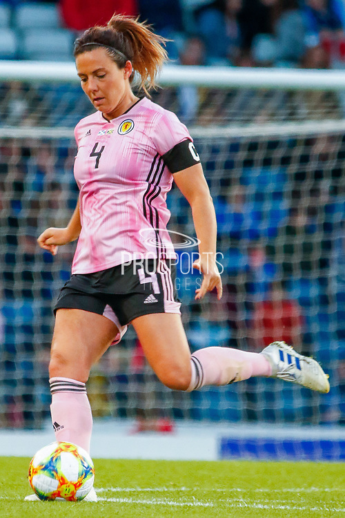Scotland Captain Rachel CORSIE (Utah Royals FC (USA)) during the International Friendly match between Scotland Women and Jamaica Women at Hampden Park, Glasgow, United Kingdom on 28 May 2019.