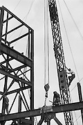 Construction of the New Guiness Factory, Park Royal, London, England, 1935