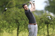 James Hunt (Clontarf) during the second round at the Connacht Mid Amateur Open, Roscommon Golf Club, Roscommon, Roscommon, Ireland. 17/08/2019.<br /> Picture Fran Caffrey / Golffile.ie<br /> <br /> All photo usage must carry mandatory copyright credit (© Golffile   Fran Caffrey)