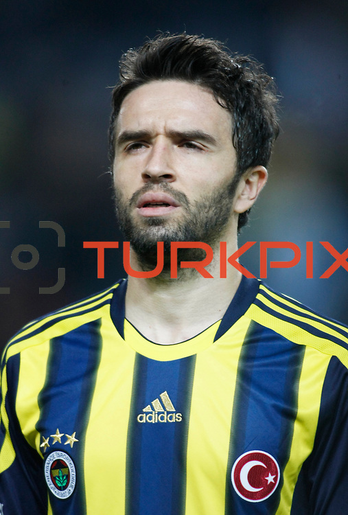 Fenerbahce's Gokhan Gonul during their Turkish superleague soccer match Fenerbahce between Gaziantepspor at the Sukru Saracaoglu stadium in Istanbul Turkey on Monday09 January 2011. Photo by TURKPIX