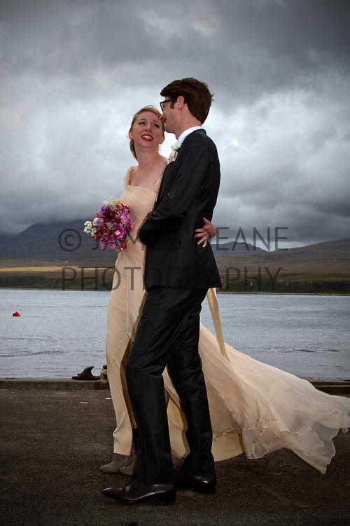 Sample Wedding Photography by James Deane, Isle of Islay