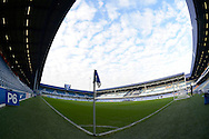 General view of Loftus Road stadium before k/o. Barclays Premier league match, Queens Park Rangers v Leicester city at Loftus Road in London on Saturday 29th November 2014.<br /> pic by John Patrick Fletcher, Andrew Orchard sports photography.