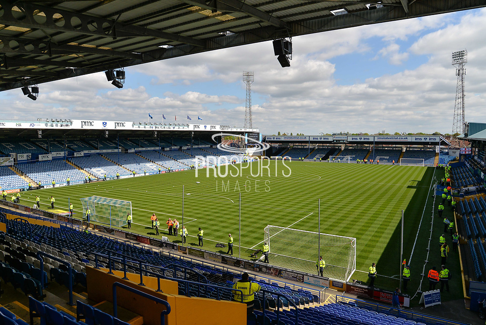 Fratton Park during the EFL Sky Bet League 2 match between Portsmouth and Cambridge United at Fratton Park, Portsmouth, England on 22 April 2017. Photo by Adam Rivers.