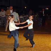 Huizer Sportgala 2004, Diana + Linda Janssen, Saskia Veerman