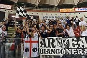 DESCRIZIONE : Roma LNP Serie A2 Ovest 2015-16 Acea Roma Orsi Tortona<br /> GIOCATORE : Tifosi Orsi Tortona<br /> CATEGORIA : tifosi pubblico esultanza<br /> SQUADRA : Acea Roma<br /> EVENTO : Campionato Serie A2 Ovest 2015-2016<br /> GARA : Acea Roma Orsi Tortona<br /> DATA : 04/10/2015<br /> SPORT : Pallacanestro <br /> AUTORE : Agenzia Ciamillo-Castoria/G.Masi<br /> Galleria : Serie A2 Ovest 2015-2016<br /> Fotonotizia : Roma Serie A2 Ovest 2015-16 Acea Roma Orsi Tortona