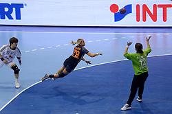 08-12-2013 HANDBAL: WERELD KAMPIOENSCHAP ZUID KOREA - NEDERLAND: BELGRADO <br /> 21st Women s Handball World Championship Belgrade. Nederland verliest de tweede partij van het WK met 29-26 van Korea / Estavana Polman<br /> ©2013-WWW.FOTOHOOGENDOORN.NL