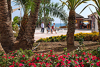 Promenade, Estepona, Malaga Province, Spain, October, 2018, 201810092531<br /> <br /> Copyright Image from Victor Patterson, Belfast, UK, BT9 5HG<br /> <br /> t: +44 28 9066 1296 (from Rep of Ireland 048 9066 1296)<br /> m: +44 7802 353836<br /> <br /> victorpattersonbelfast@gmail.com<br /> www.victorpatterson.com<br /> <br /> Please see my Terms and Conditions of Use at https://www.victorpatterson.com/page2<br /> It is IMPORTANT that you familiarise yourself with them.<br /> <br /> Images used on the Internet incur an additional cost and must be visibly watermarked i.e. © Victor Patterson within the body of the image and copyright metadata must not be deleted. Images used on the Internet have a size restriction of 4kbs and are chargeable at rates available at victorpatterson.com.<br /> <br /> This image is only available for the use of the download recipient i.e. television station, newspaper, magazine, book publisher, etc, and must not be passed on to any third party. It is also downloaded on condition that each and every usage is notified within 7 days to victorpattersonbelfast@gmail.com.<br /> <br /> The right of Victor Patterson to be identified as the author is asserted in accordance with The Copyright Designs And Patents Act (1988). All moral rights are asserted.