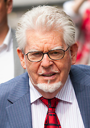 London, June 27th 2014. Rolf Harris, on trial for indecent assault against 4 girls aged between 7 and 19 arrives at court with the jury beginning a 7th day in retirement.