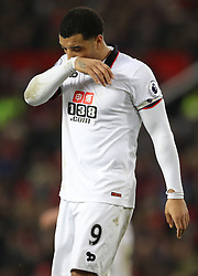 Watford's Troy Deeney shows his dejection