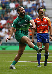 May 26, 2019 - London, England, United Kingdom - Mark Roche  of Ireland .during The HSBC World Rugby Sevens Series 2019 London 7s Cup Quarter Final Match 32 between Fiji and Ireland at Twickenham on 26 May 2019. (Credit Image: © Action Foto Sport/NurPhoto via ZUMA Press)