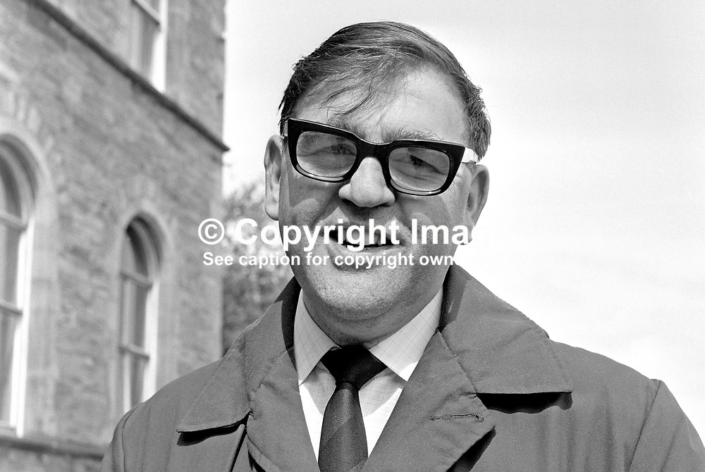 Larry Doherty, photographer, Derry Journal, Londonderry, N Ireland, UK, 197104000209.<br /> <br /> Copyright Image from Victor Patterson, Belfast, UK<br /> <br /> t: +44 28 9066 1296 (from Rep of Ireland 048 9066 1296)<br /> m: +44 7802 353836<br /> e: victorpattersonbelfast@gmail.com<br /> <br /> www.images4media.com<br /> <br /> Please see my full Terms and Conditions of Use at https://www.images4media.com/p/terms-conditions - it is IMPORTANT that you familiarise yourself with them.<br /> <br /> Images used online incur an additional cost. This cost should be agreed in writing in advance. Online images must be visibly watermarked i.e. © Victor Patterson or that of the named photographer within the body of the image. The original metadata must not be deleted from images used online.<br /> <br /> This image is only available for the use of the download recipient i.e. television station, newspaper, magazine, book publisher, etc, and must not be passed on to a third party. It is also downloaded on condition that each and every usage is notified within 7 days to victorpattersonbelfast@gmail.com.<br /> <br /> The right of Victor Patterson (or the named photographer) to be identified as the author is asserted in accordance with The Copyright Designs And Patents Act (1988). All moral rights are asserted.