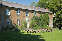08090 FAGNON - Clubhuis van Golfbaan Abbaye des Septfontaines, in de Franse Ardennen. COPYRIGHT KOEN SUYK