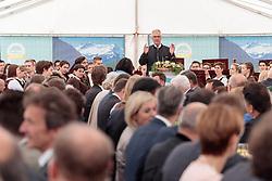 17.06.2017, Felbertauerntunnel Südportal, Matrei in Osttirol, AUT, 50. Jahre Felbertauernstrasse, im Bild Karl Popeller Felbertauernstrassen AG. EXPA Pictures © 2017, PhotoCredit: EXPA/ Johann Groder