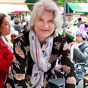 NLD/Amsterdam/20130701 - Keti Koti Ontbijt 2013 op het Leidse Plein, Andree van Es