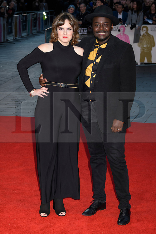 © Licensed to London News Pictures. 16/10/2016. London, UK. ANNA CEESAY and BABOU CEESAY attends the film premiere of Free Fire showing at The London Film Festival. Ray Tang/LNP