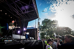 Louis Berry play on the King Tut's stage, Friday at TRNSMT music festival, Glasgow Green.