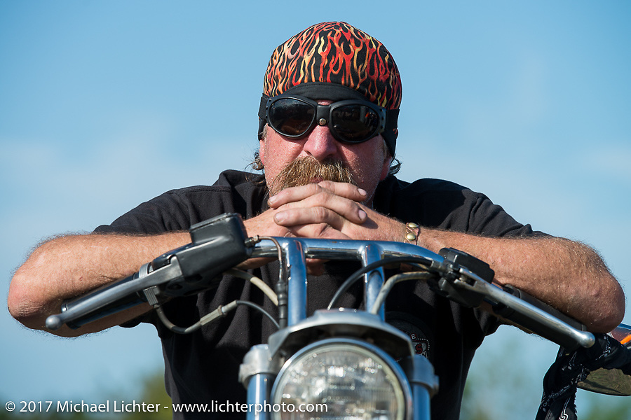 The AMCA Sunshine Chapter Swap Meet during Daytona Beach Bike Week. FL. USA. Saturday March 11, 2017. Photography ©2017 Michael Lichter.