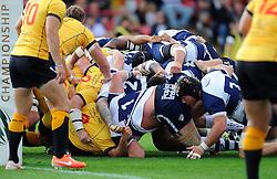 Bristol are awarded a penalty try  - Photo mandatory by-line: Joe Meredith/JMP - Mobile: 07966 386802 - 21/09/2014 - SPORT - FOOTBALL - Bristol - Ashton Gate - Bristol Rugby v Cornish Pirates - Greene King IPA Championship