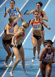 06-03-2011 ATHELETICS: EUROPEAN ATHLETICS INDOOR CHAMPIONSHIPS: PARIS<br /> European Athletics Indoor Championships Paris / HOFFMANN Claudia GER<br /> © Ronald Hoogendoorn Photography