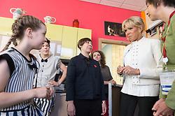 Brigitte Macron visiting Upsala Circus in Saint Petersburg,Russia on may 25, 2018. Photo Jacques Witt/pool/ABACAPRESS.COM
