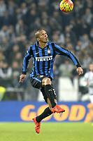 Joao Miranda Inter,<br /> Torino 27-01-2016, Juventus Stadium, Football Calcio 2015/2016 Coppa Italia, Juventus - Inter, Foto Filippo Alfero/Insidefoto