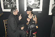 Philippe Rene-Bazin and Cherry Chau, Future Punk Launch party at Selfridges, Oxford St. : 9th March. ONE TIME USE ONLY - DO NOT ARCHIVE  © Copyright Photograph by Dafydd Jones 66 Stockwell Park Rd. London SW9 0DA Tel 020 7733 0108 www.dafjones.com