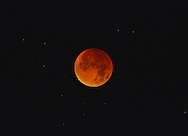 Lunar eclipse/Red Moon